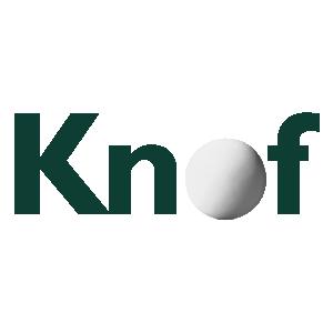 Logo Knof - Combinatie van knoflook, vitamines en antioxidanten voor verhoging van de vitaliteit.