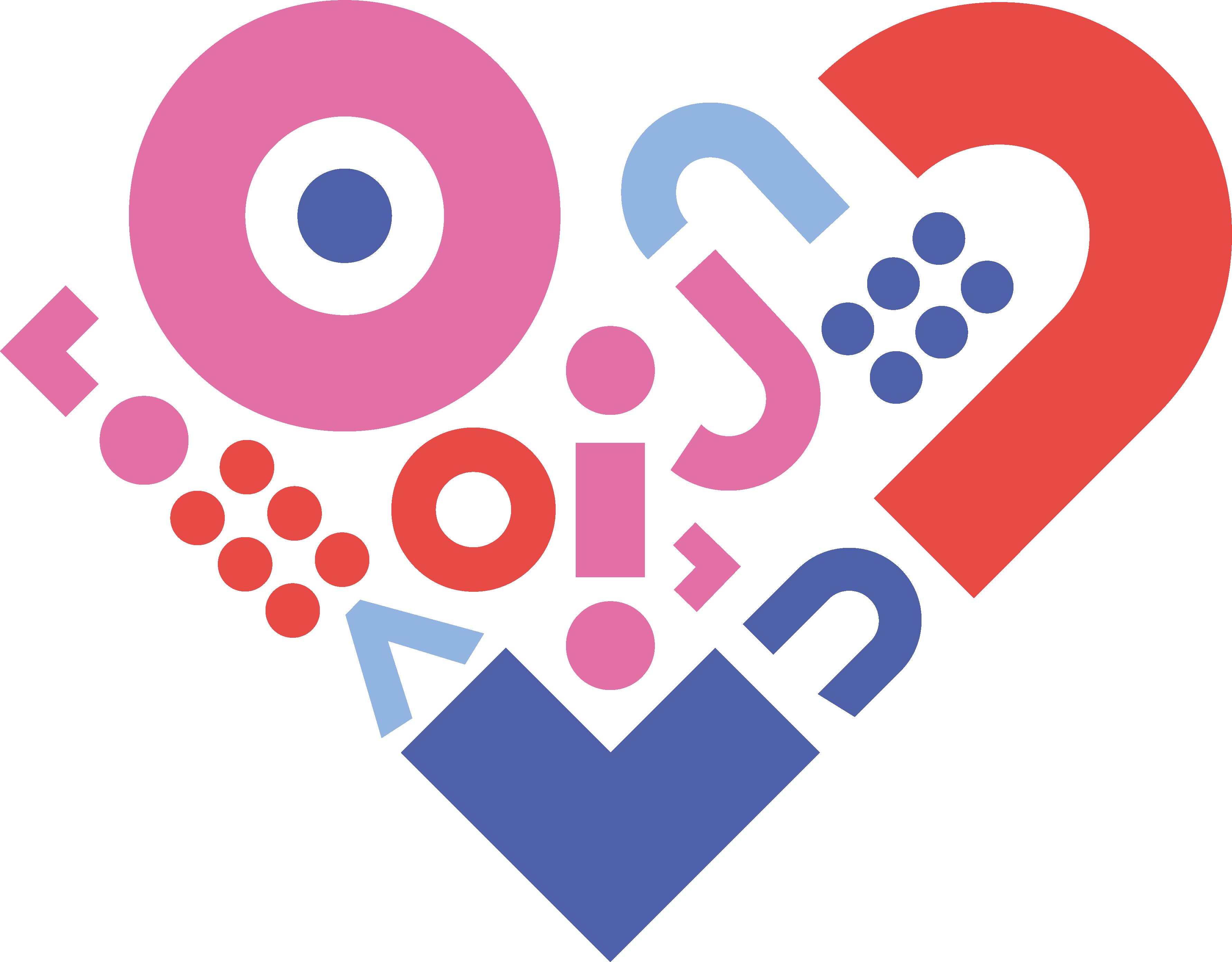 Stijlelement in hartvorm van Truvion Healthcare dat staat voor persoonlijke aandacht